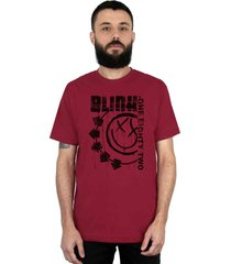 camiseta 182life blink one eighty two vinho - vinho - masculino - dafiti