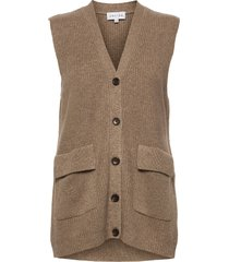 butt d vest vests knitted vests bruin davida cashmere