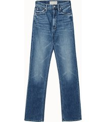 mother jeans in denim medio