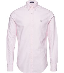the oxford shirt slim bd overhemd business roze gant