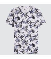 camiseta para hombre hojas