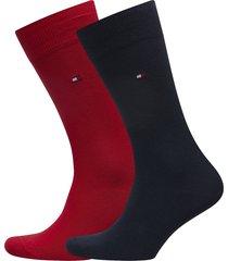socks 2-pairs underwear socks regular socks röd tommy hilfiger