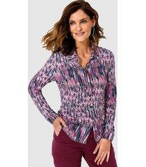 blouse mona marine::berry