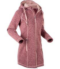 giaccone in maglia con pile (rosso) - bpc bonprix collection