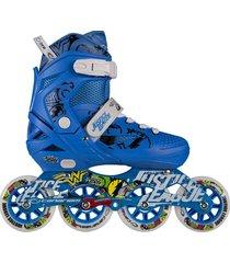 patines canariam roller liga de la justicia