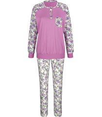 pyjama harmony fuchsia::wit::groen