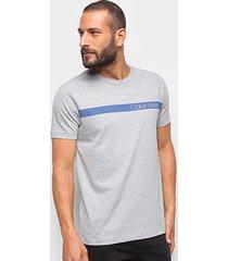 camiseta básica calvin klein estampada masculina - masculino