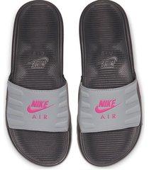 8-sandalias de dama nike wmns nike air max camden slide-gris