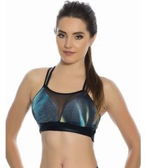 top cropped cosmic kalini beachwear