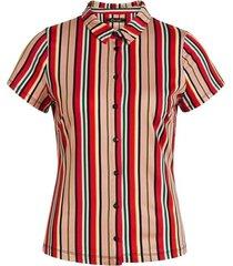 blouse lido stripe