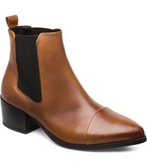 parker shoes boots ankle boots ankle boot - heel brun pavement