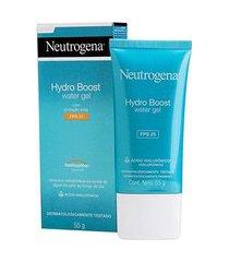 gel hidratante facial neutrogena hydro boost water gel fps 25 55g