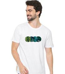 camiseta sandro clothing plant branco - branco - masculino - dafiti