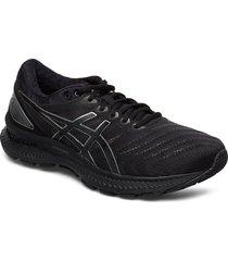 gel-nimbus 22 shoes sport shoes running shoes svart asics