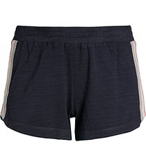 side-stripe lounge shorts