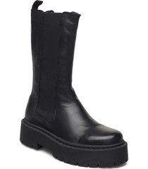 biadeb long boot shoes chelsea boots svart bianco