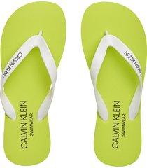sandalia ff sandals amarillo calvin klein