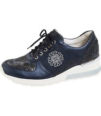 sneakers waldläufer mörkblå