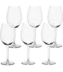 conjunto de taças vinho magnum libbey com 6 peças 400ml