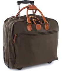 bric's x-travel pilot case - green