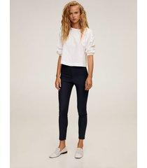 broek met elastische tailleband