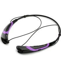 audífonos bluetooth manos, nuevo inalámbricos audifonos bluetooth manos libres  deportes auriculares estéreo auriculares teléfonos móviles de moda (púrpura)