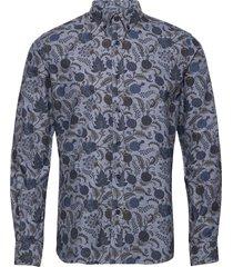 jaxon button down shirt skjorta casual grå morris