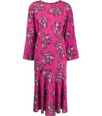 fendi pre-owned 1970s skirt suit - pink