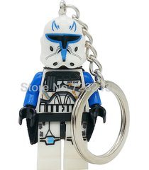 sa 1 pc clone trooper star wars figure stormtrooper key chain ring minifigure bl