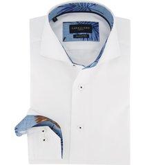 cavallaro mouwlengte 7 overhemd wit