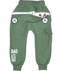 spodnie hungry one misty green