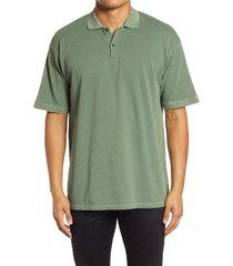 men's john elliott meadow cotton polo shirt