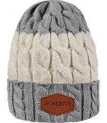 gorro de lana light gray sp nerfis