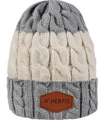 gorro de lana light gray sp nerfis