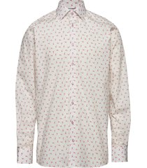 ice cream flamingo shirt - contemporary fit overhemd business roze eton