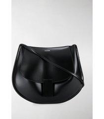 jil sander rounded shoulder bag