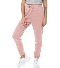 jogger buzo rosa mujer corona