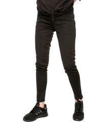 pantalón negro adidas performance w st slim pt