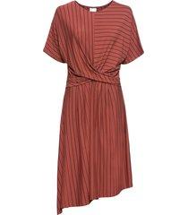 abito asimmetrico di jersey (rosso) - bodyflirt