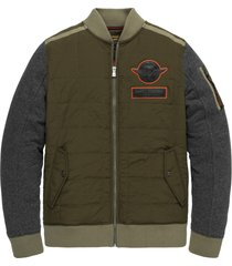 pme legend psw205409 6389 zip jacket track sweat green