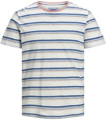 jack & jones men's striped tee shirt