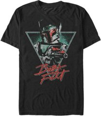 star wars men's classic boba fett blaster short sleeve t-shirt