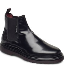 beaumont chelsea shoes chelsea boots svart gant