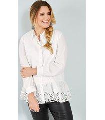 blouse sara lindholm offwhite