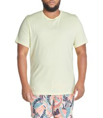 men's big & tall mvp collections essential crewneck t-shirt, size 5x-large - yellow