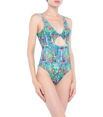 black coral one-piece swimsuits