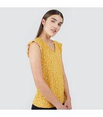 camiseta para mujer mini flores