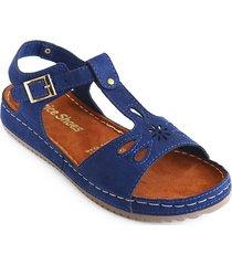 priceshoes sandalia confort dama 162406indigo
