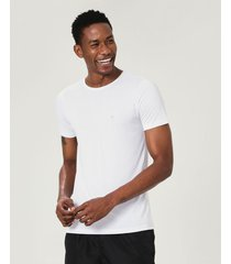 camiseta dry branco - p
