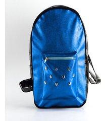 mochila azul hi benedetta
